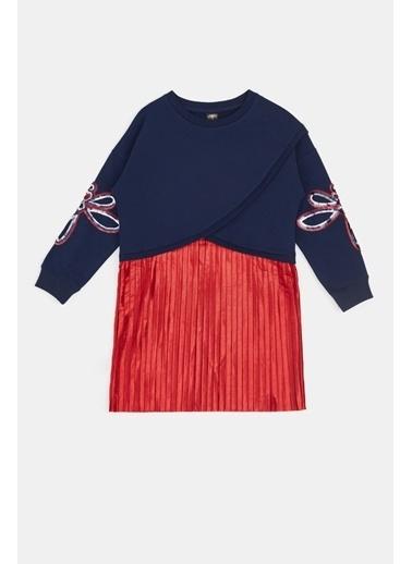 Tyess Kız Çocuk Lacivert Elbise 20Fw0Tj4907 Lacivert